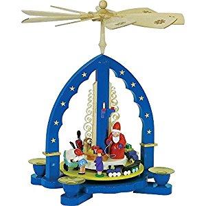 Ore Mountain Pyramid Christmas Presents Christmas Pyramid 27 cm.