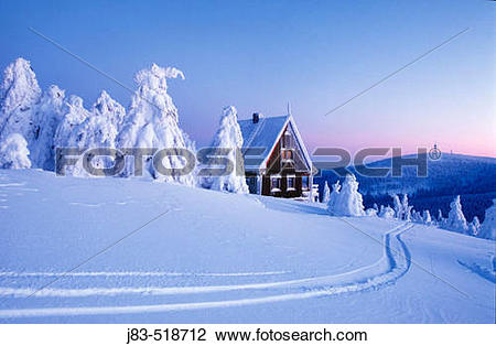 Stock Photo of Snow.