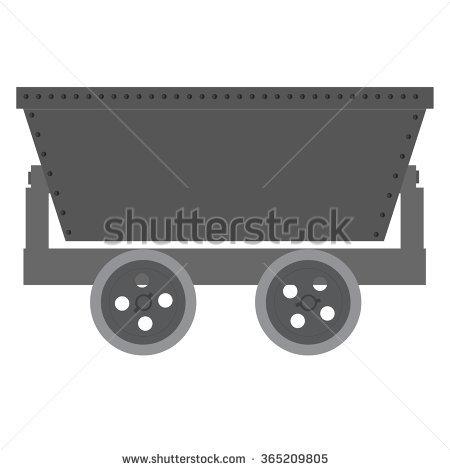 Ore Carts Stock Photos, Royalty.