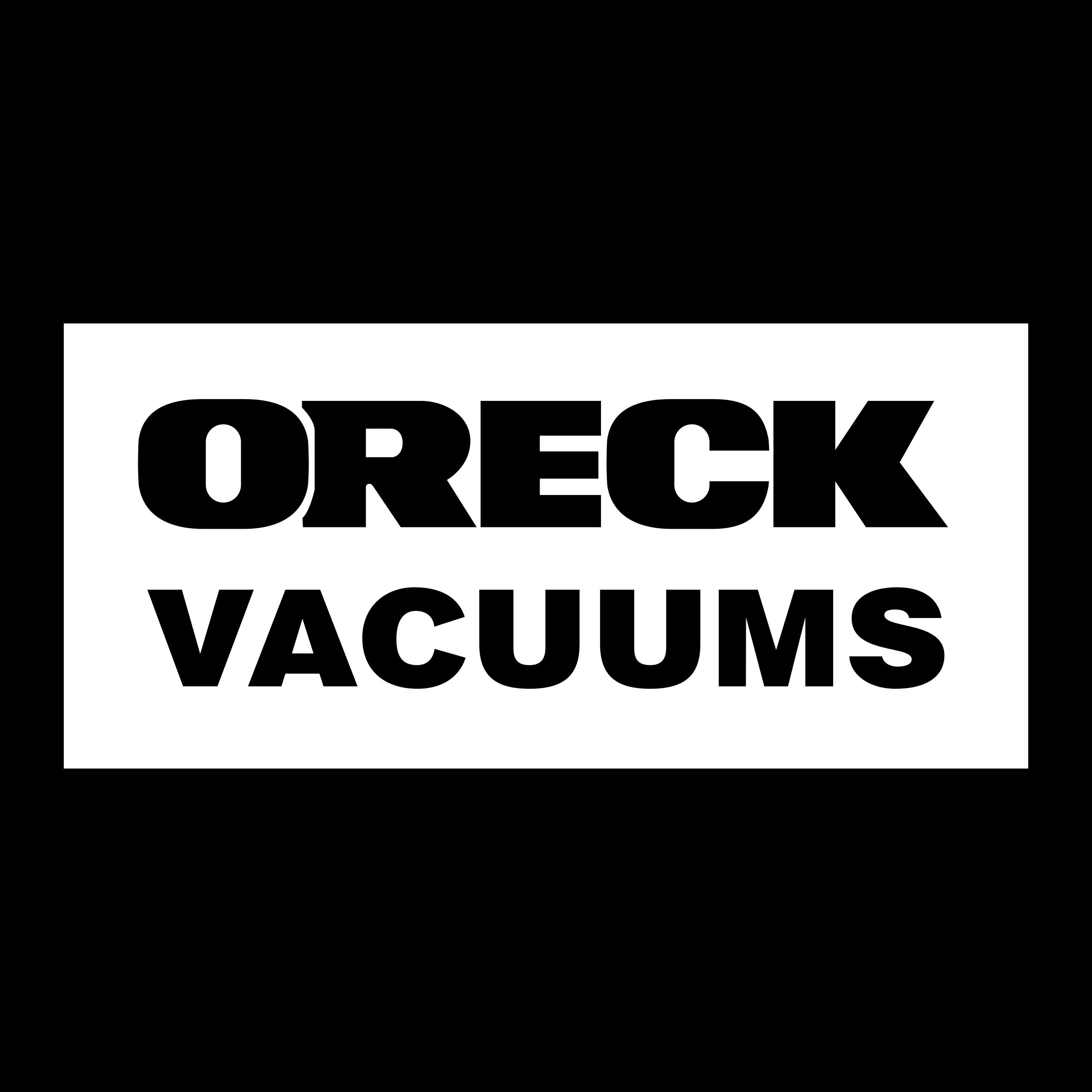 Oreck Vacuums Logo PNG Transparent & SVG Vector.