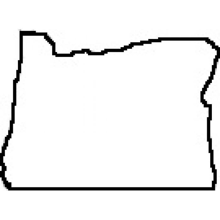 Oregon Clipart Outline.