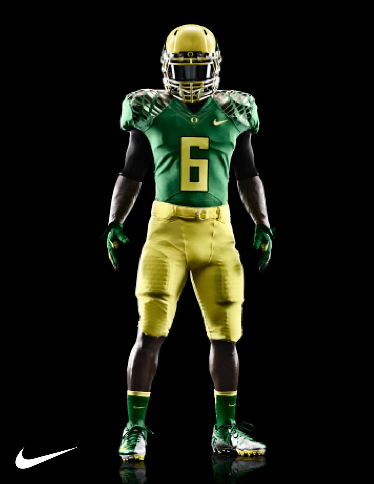 Oregon Ducks Jersey Clip Art.