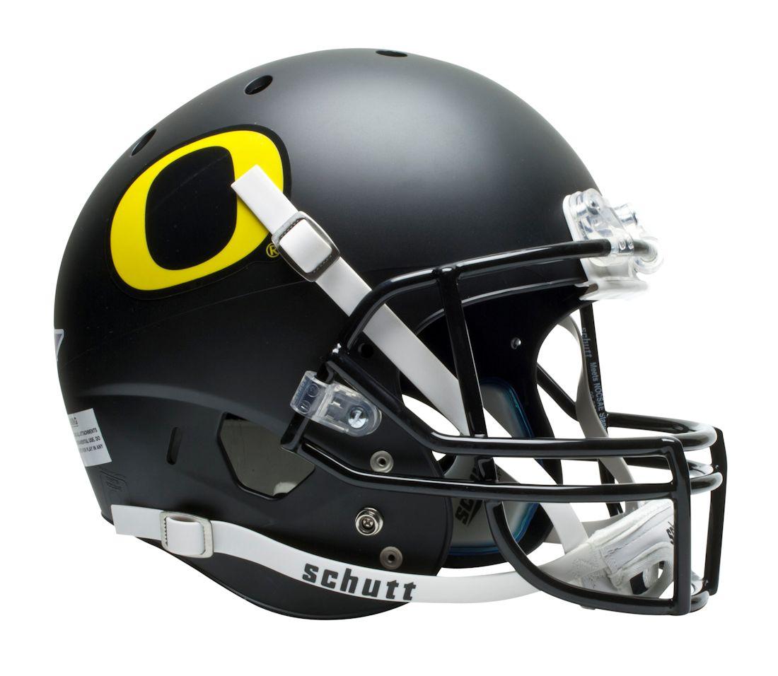 Football Helmets.