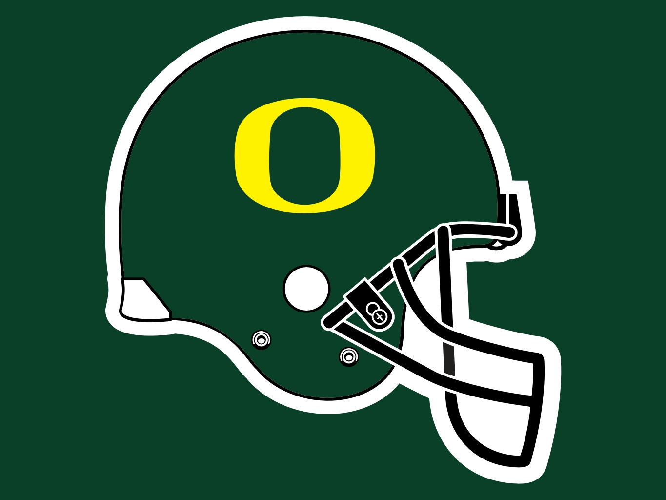 Oregon Ducks Helmet Wallpaper.
