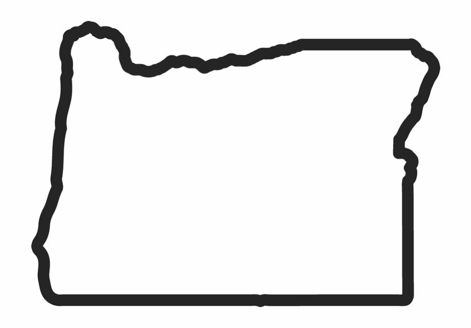 Oregon Vector Outline Free PNG Images & Clipart Download.