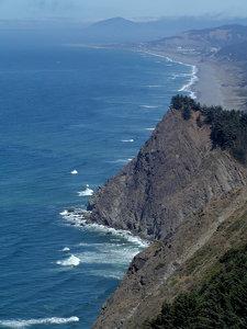 Oregon Coast Photo Clipart Image.