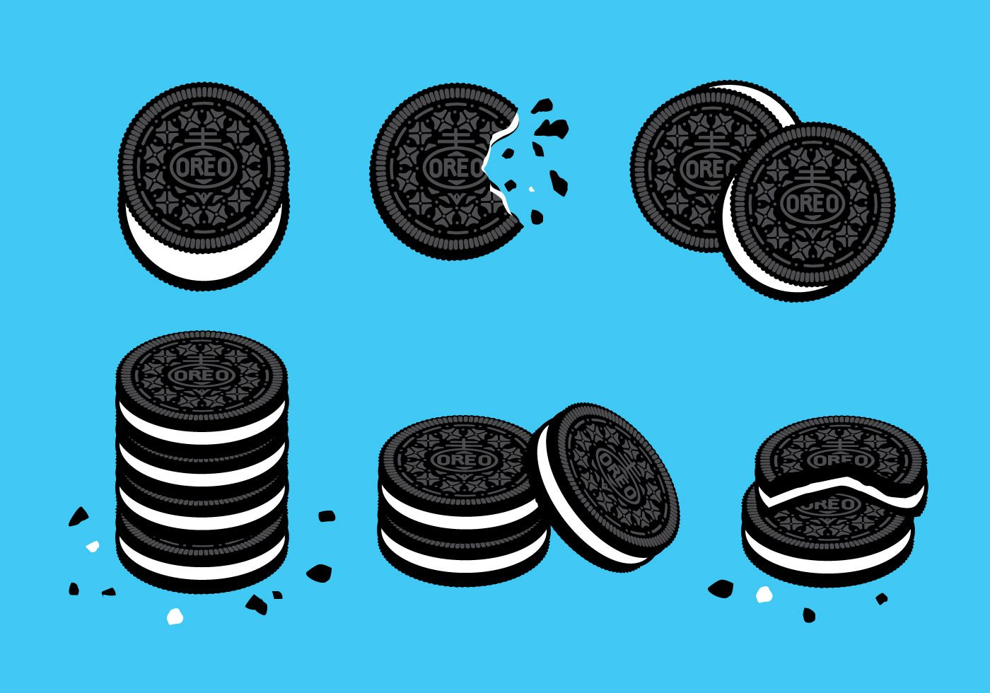 21 Awesome free oreo cookie clipart.