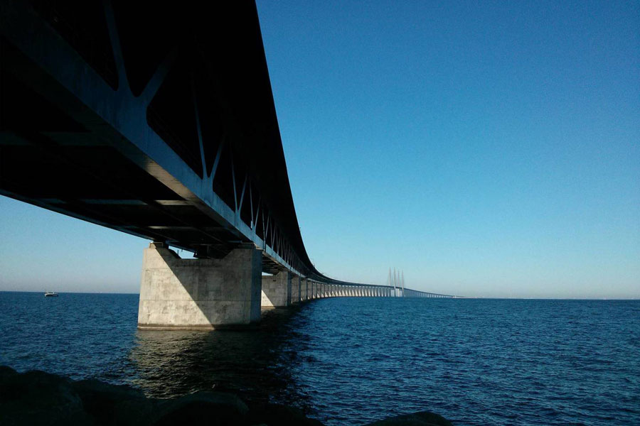 Øresund Bridge.