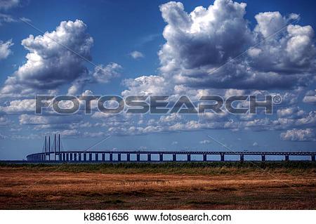 Stock Images of Oresundsbron HDR k8861656.