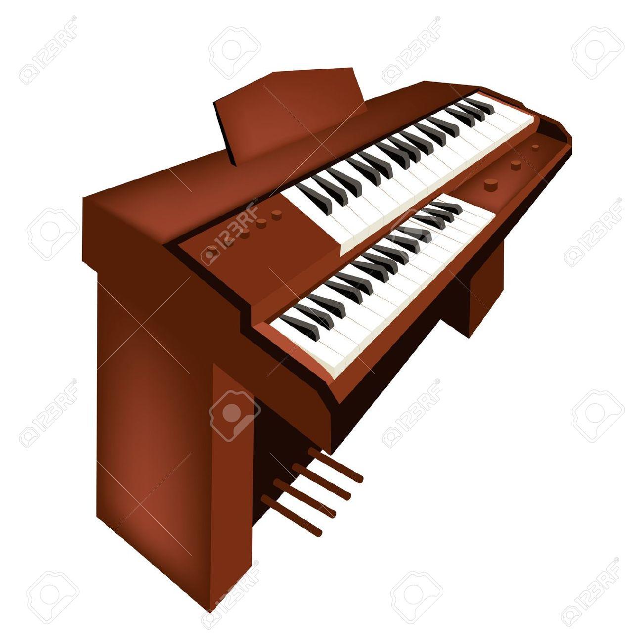Pipe organ clipart free.