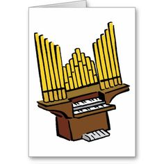 Pipe Organ Clipart.