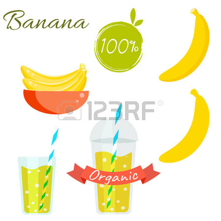 7,977 Organic Banana Stock Vector Illustration And Royalty Free.