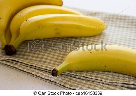 Stock Photos of Ripe organic bananas.