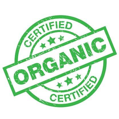 Certified Organic Label premium clipart.
