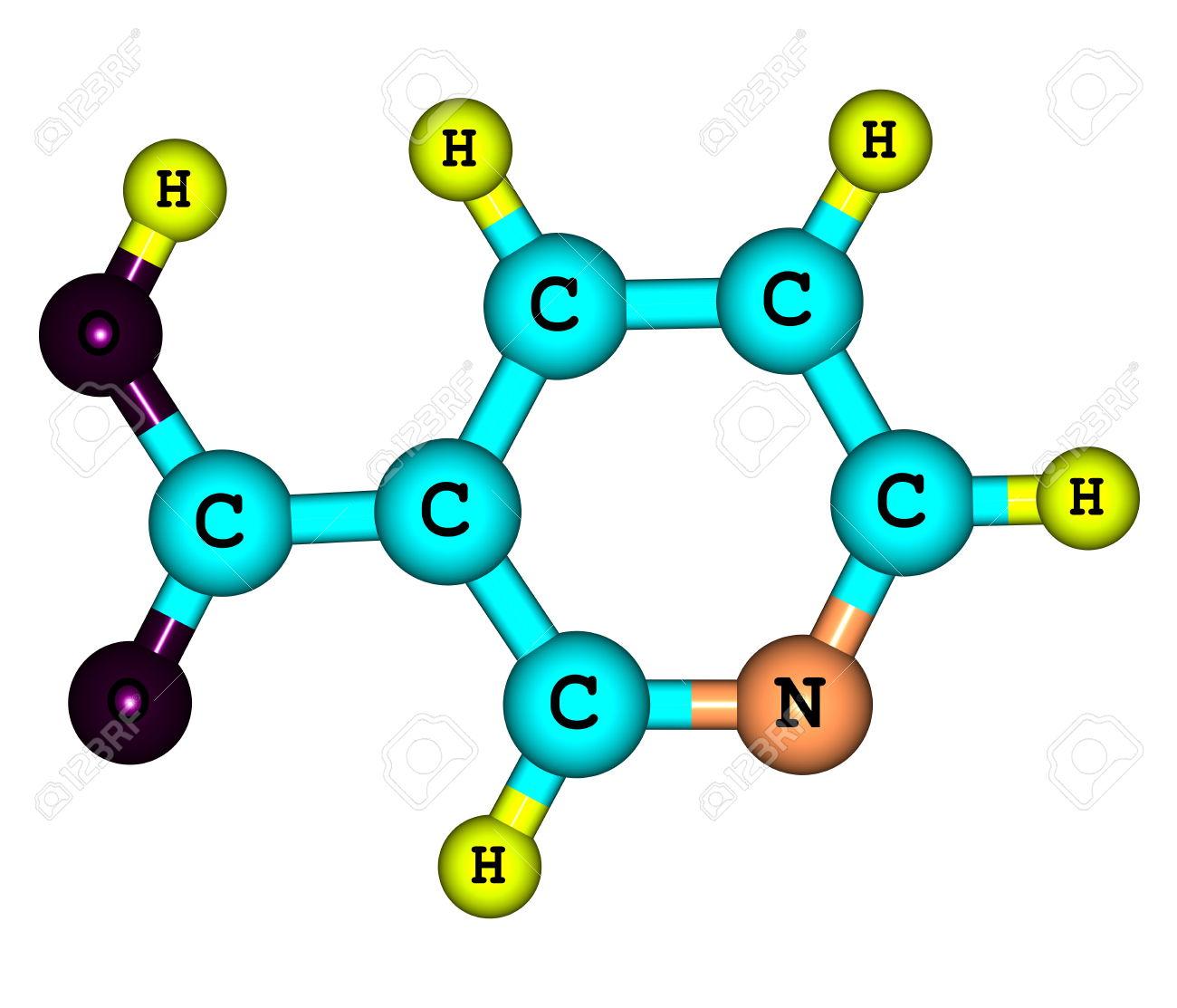 Niacin (B3 Or Nicotinic Acid) Is An Organic Compound With The.