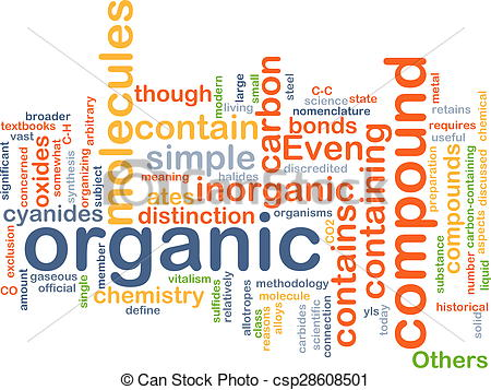 Stock Photography of Organic compound background concept.