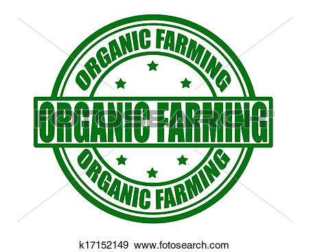 Clip Art of Organic farming k17152149.
