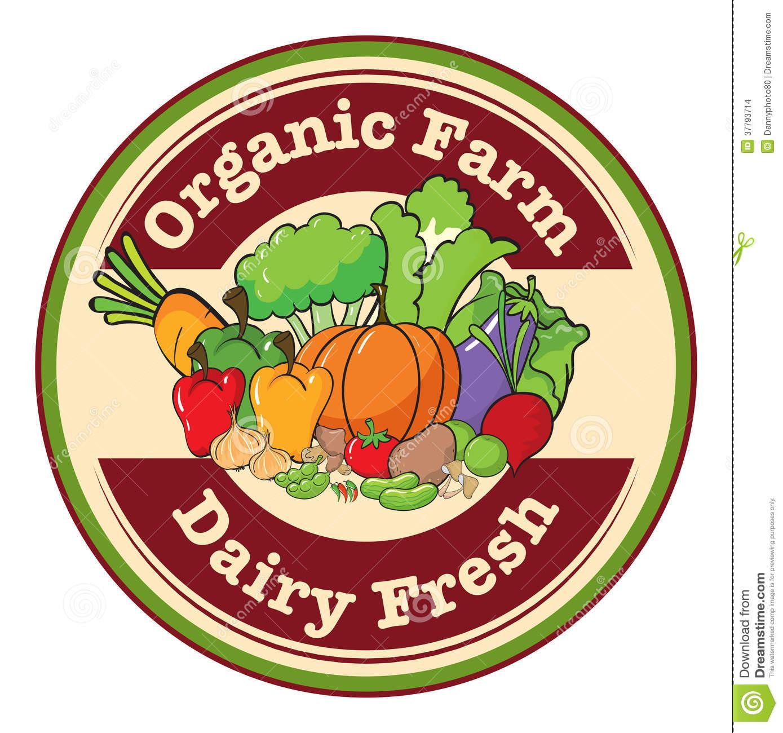 Organic farming clipart.