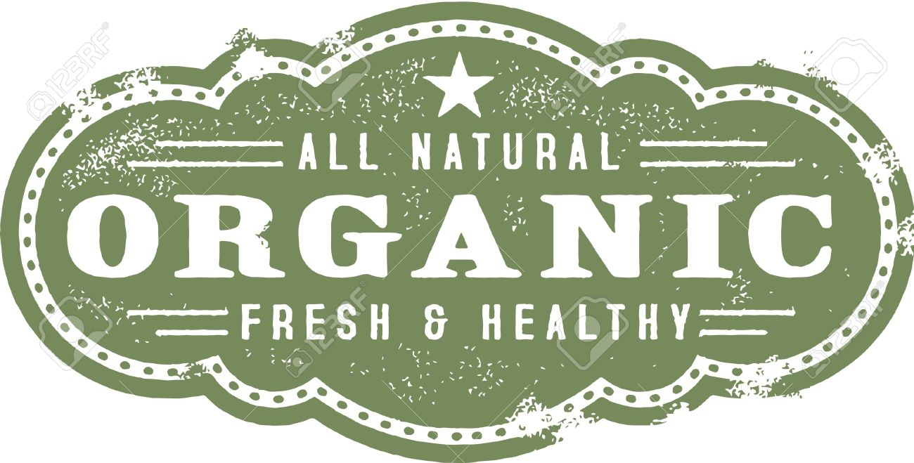Organic Food Clipart.