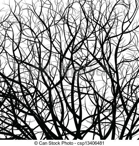 Vector leaf veins seamless texture.
