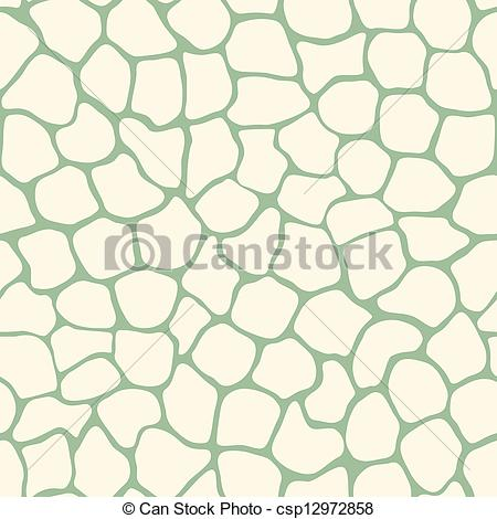 Clipart Vector of Vector abstract simple organic seamless pattern.