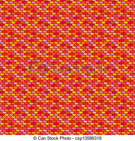 Vector Clip Art of Minimalistic Mexican pattern.