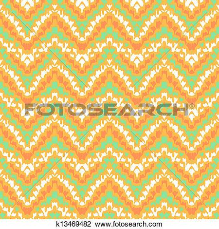 Clipart of organic geometric hipster pattern k13469482.