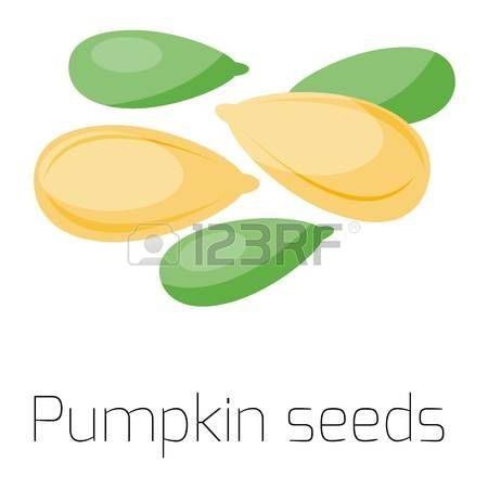 156 Pumpkin Sunflower Seeds Stock Illustrations, Cliparts And.