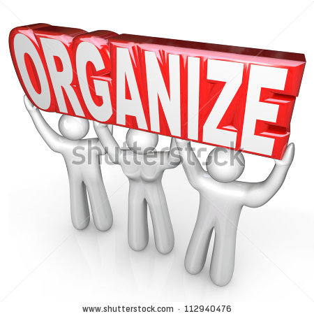 Get Organized Stock Images, Royalty.