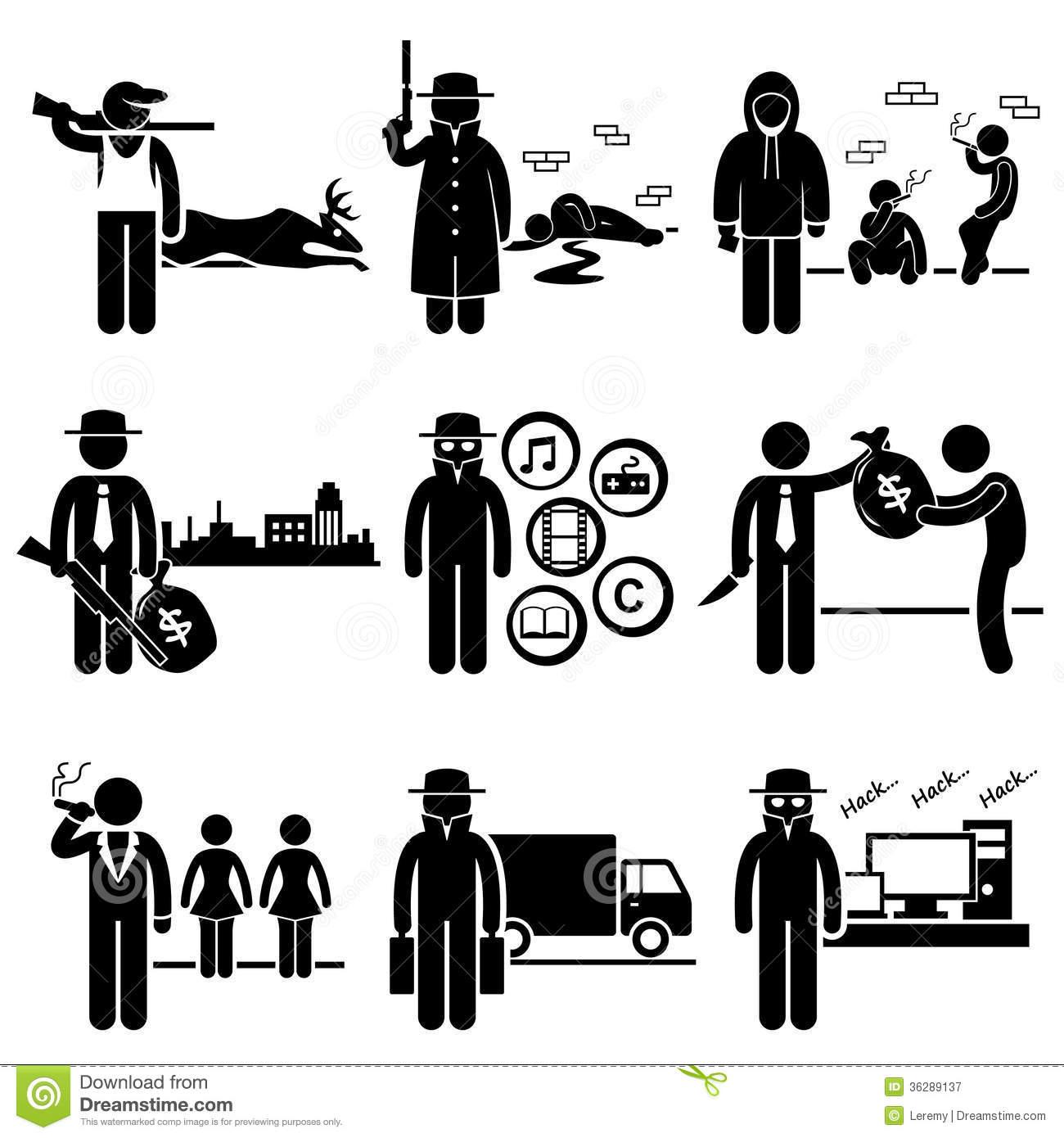 Organized Crime Clipart.