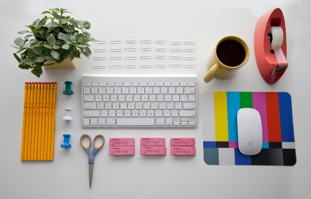 Organized Desktop Clipart.