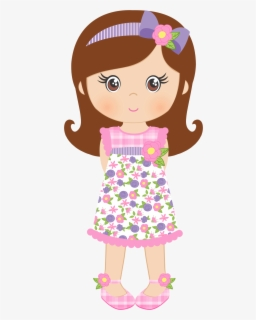 Free Organized Girl Clip Art with No Background.