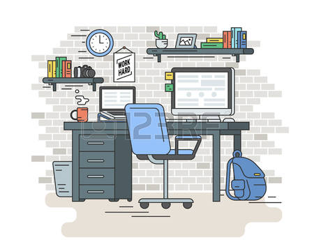 12,877 Student Desk Stock Vector Illustration And Royalty Free.