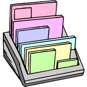 Organizer Clipart.