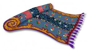 Oriental Rug Clipart.