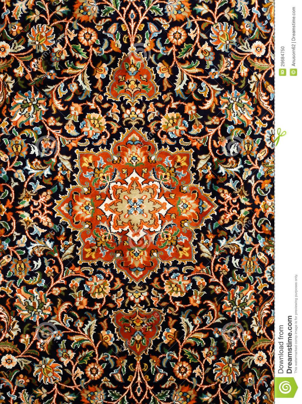 Persian carpat art clipart.