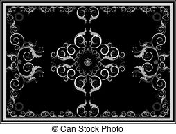 Oriental rug Vector Clipart EPS Images. 2,898 Oriental rug clip.