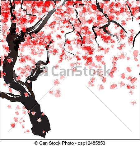 Oriental cherry Vector Clipart EPS Images. 1,846 Oriental cherry.