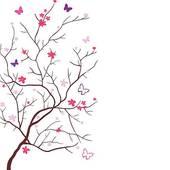 Oriental Cherry Clip Art.