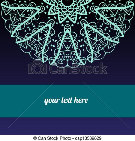 Vector Illustration of Oriental traditional ornament motif.
