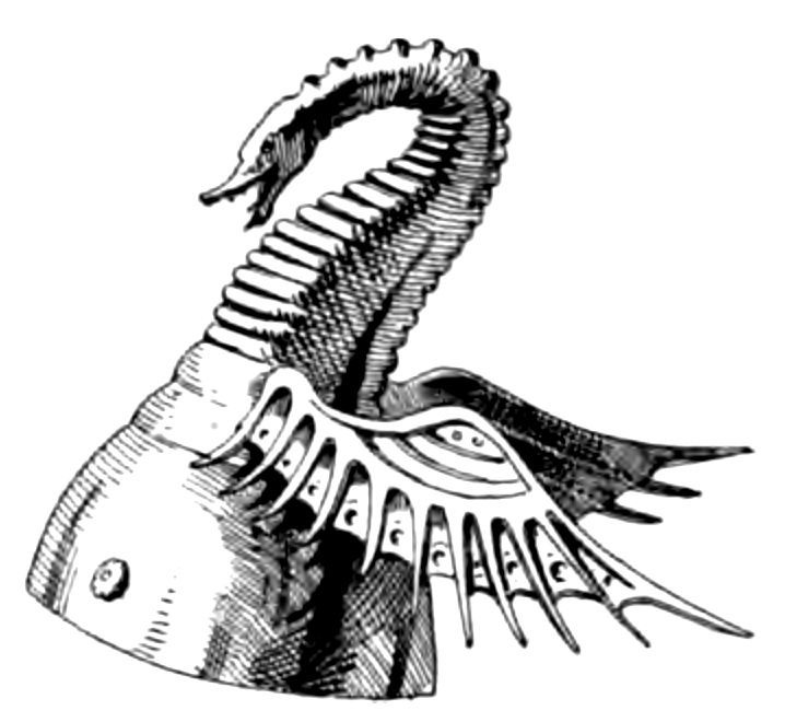 Helm mit Zimier.