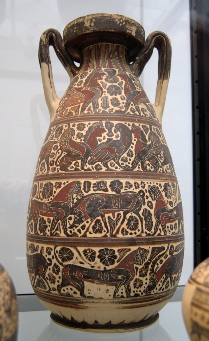 Vase Painting in the Orientalizing Period.