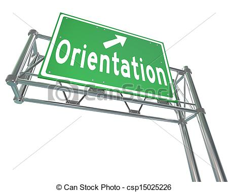 School Orientation Clipart.