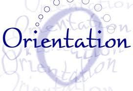 Orientation Clipart.