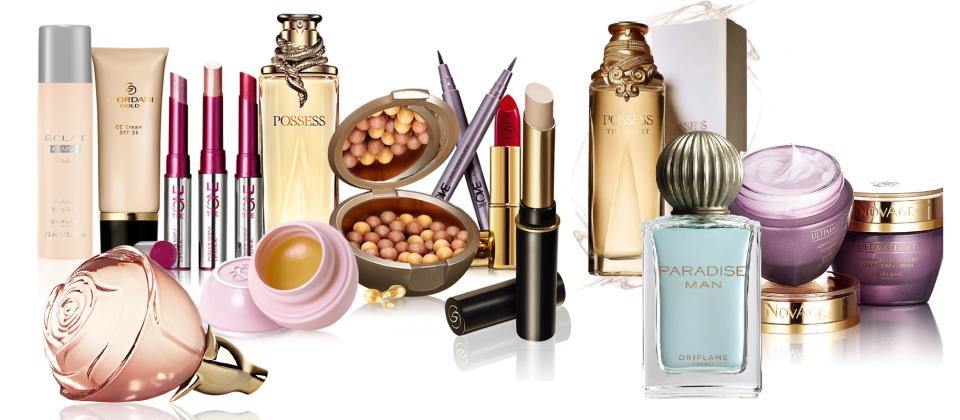 Oriflame Cosmetics Perfumes Accessories.