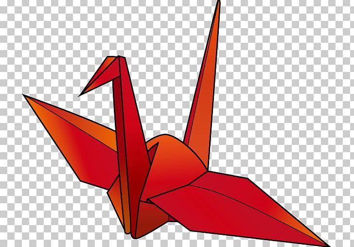 Origami Paper Crane Orizuru PNG, Clipart, Angle, Anniversary.