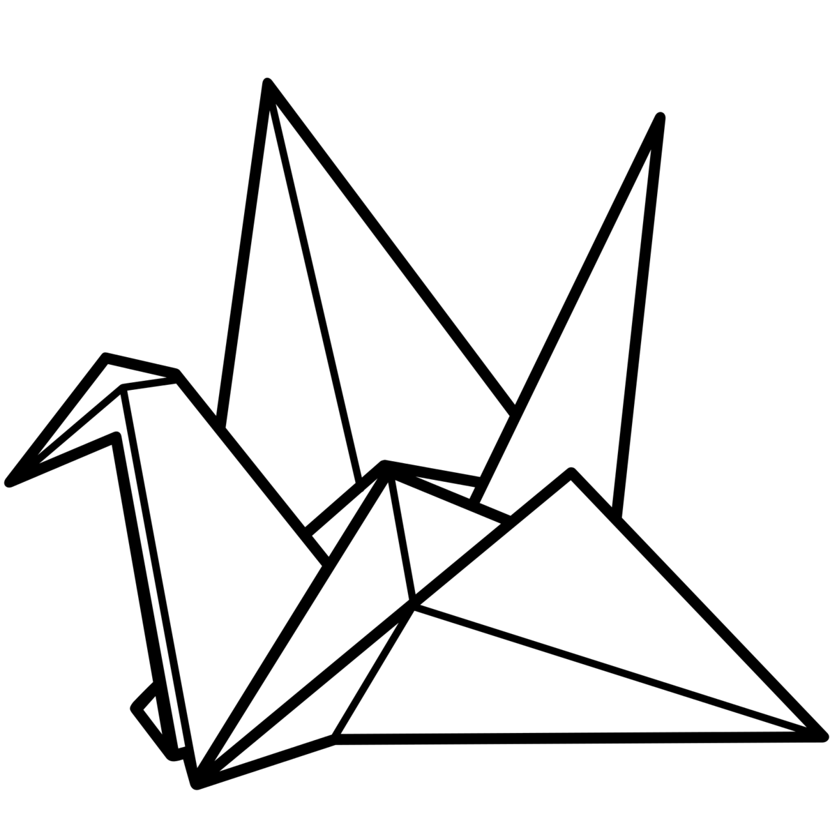 Origami drawing clipart images gallery for free download.