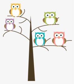 Owls And Tree Png.