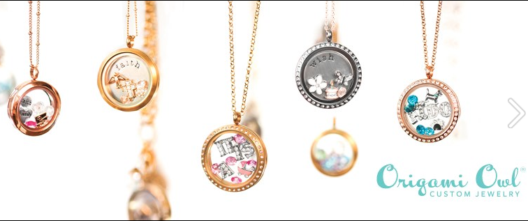 Individuality in a Locket: Origami Owl Jewelry Line.