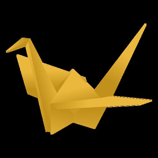 Origami paper crane.